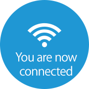 You are now connected.